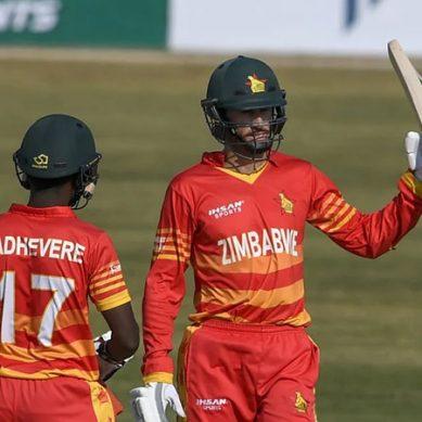 زمبابوے نے سپر اوور میں پاکستان کو شکست دیدی