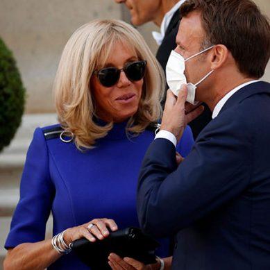 فرانسیسی صدر کا کورونا ٹیسٹ مثبت،اہلیہ کا منفی