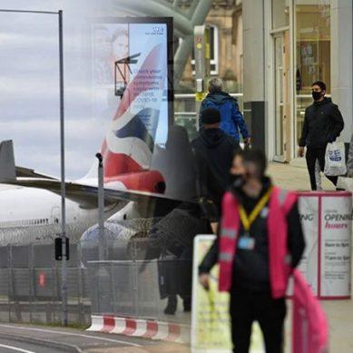 کورونا کی نئی شکل : پروازیں منسوخ ، سرحدیں بھی بند