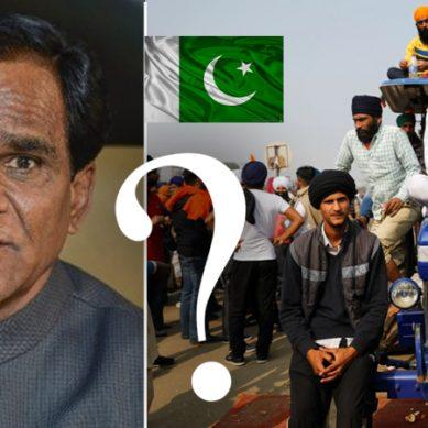 بھارت میں جاری کسان احتجاج کے پیچھے پاکستان ہے بھارتی وزیر