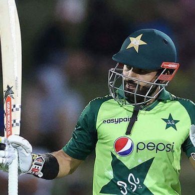محمد رضوان کی دھواں دھار اننگز:تیسرے ٹی ٹوئنٹی میں پاکستان کی جیت