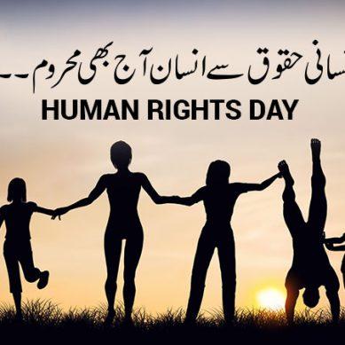 دس دسمبر انسانی حقوق کا عالمی دن