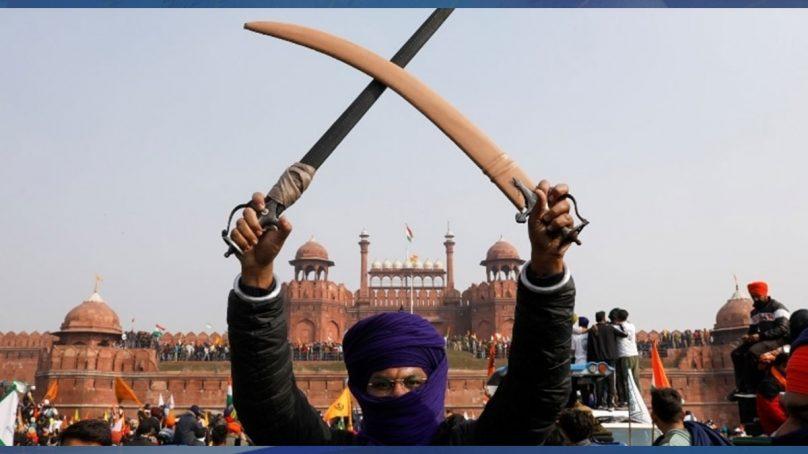 بھارتی کسان ٹریکٹر ریلی: ایسا نظارہ پہلے کبھی نہیں دیکھا گیا
