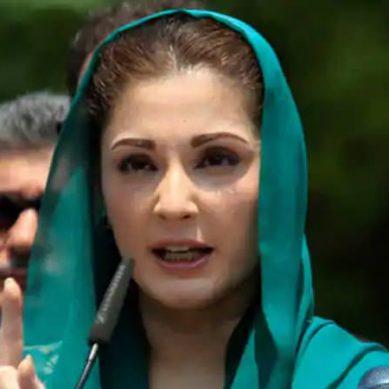 عمران خان کو شرم آنی چاہیے ،مریم نواز کی تنقید