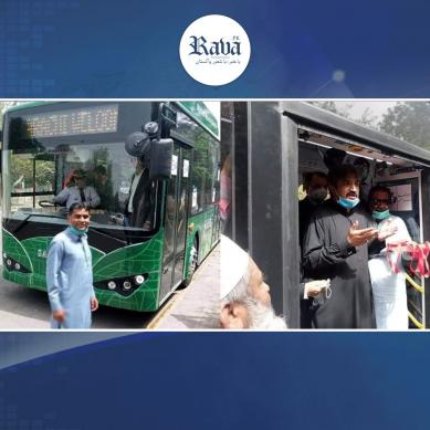 کراچی کے لیے خوشخبری:اب الیکٹرک بسوں میں سفر کریں ۔۔
