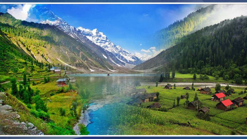 چلیں پاکستان میں جنت دیکھیں ۔۔