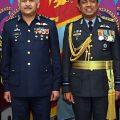 سربراہ پاک فضائیہ کی  سری لنکن ہم منصب سے ملاقات