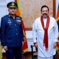 سربراہ پاک فضائیہ کی سری لنکن وزیر اعظم سے ملاقات