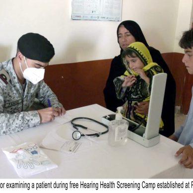 پاک بحریہ کا گوادر میں مفت میڈیکل کیمپ منعقد