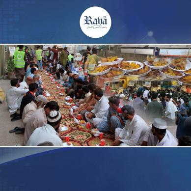 کراچی کی سڑکوں پر افطار کرانے کی ایک خوبصورت روایت ۔۔