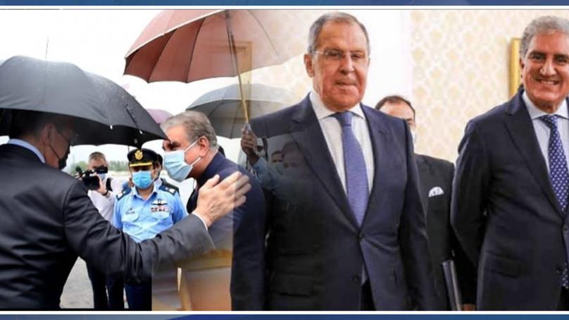 روسی وزیر خارجہ کی دو روزہ دورے پر پاکستان آمد ۔۔