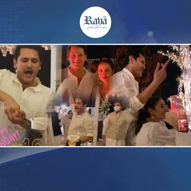 اداکار فہد مرزا کی 40وہں سالگرہ کی رنگا رنگ پارٹی کی تصاویر وائرل  ۔۔