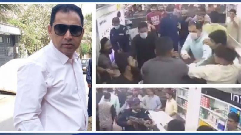 تحریک انصاف کے رکن قومی اسمبلی اسلم خان کی بدمعاشی