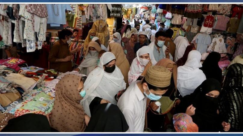 کورونا وائرس: پاکستان میں پہلی مرتبہ یومیہ ہلاکتیں 200 سے تجاوز
