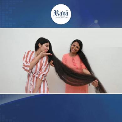 لمبے بالوں والی لڑکی: 12 سال بعد بال کٹوا کر کیسی دکھتی ہے؟؟