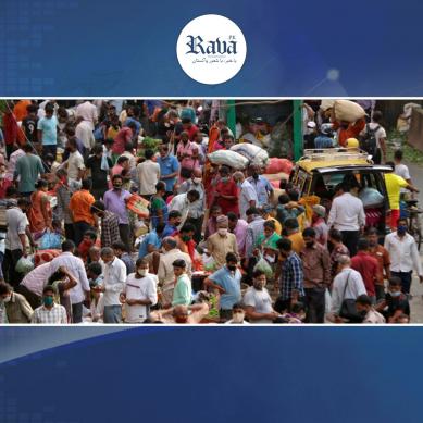 بھارت میں کورونا بے قابو ، مثبت کیسز کی شرح بلند ترین سطح پر