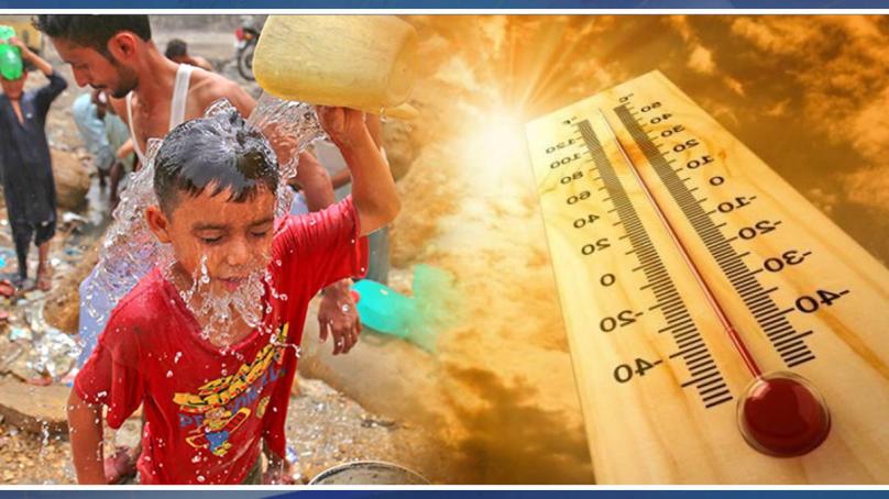 کراچی کی گرمی : سورج آگ اگلنے لگا شہری گرمی سے بےحال۔۔