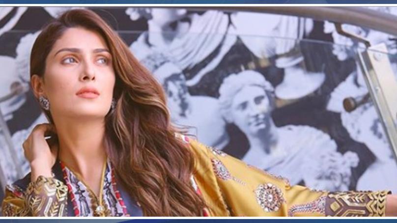 عائزہ خان کے انسٹاگرام فالوورزمیں ریکارڈ اضافہ ۔۔