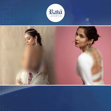 اداکارہ عائشہ عمر غیر مناسب لباس کی وجہ سے تنقید کی زد میں ۔۔