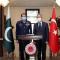 سربراہ پاک فضائیہ کی ترک سینئر فوجی قیادت سے ملاقات