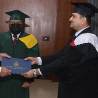 ائیر وار کالج انسٹیٹیوٹ،کراچی میں 34ویں ائیر وار کورس کی گریجویشن تقریب