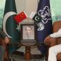 سربراہ پاک فضائیہ کا پاکستان نیوی وار کالج میں خطاب