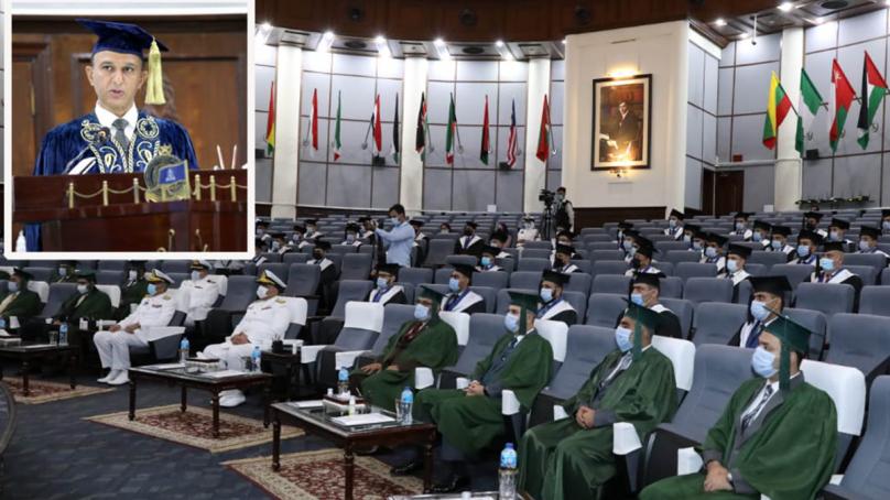 پاکستان نیوی وار کالج کے 50ویں کانووکیشن کا انعقاد