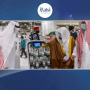 مسجد حرام میں آب زم زم کی بوتلوں کی تقسیم کیلئے اسمارٹ ربورٹ