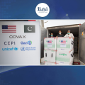 """امریکہ کی جانب سے 30 لاکھ """"موڈرنا"""" ویکسین کی خوراکیں پاکستان پہنچ گئیں۔۔"""