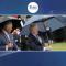 برطانوی وزیراعظم بورس جانسن کی چھتری نے سب کو ہنسا دیا