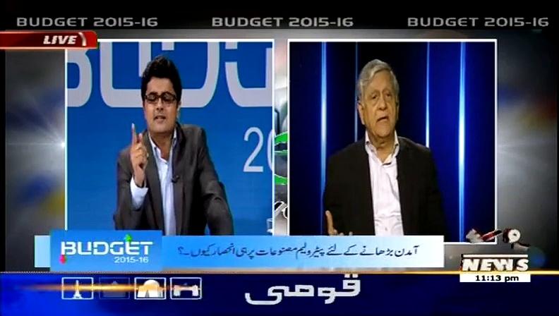 Budget 2015-2016 On Waqt News – 3rd June 2015