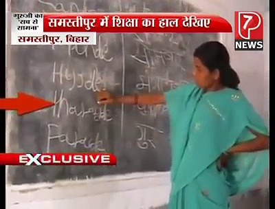 Education standard in India exposed