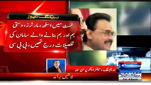 Is Nadeem Malik A Journalist Or A Advisor To MQM
