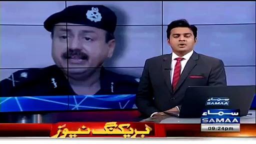 Karachi Police Chief, Ghulam Qadir in Massage