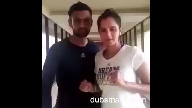 Sania Mirza celebrate Pakistan win with a Dubmash