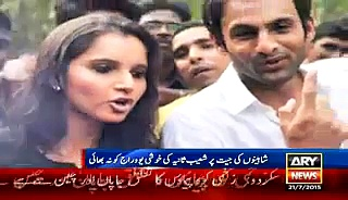 Sania, Shoaib hit back Yauraj Singh for criticism