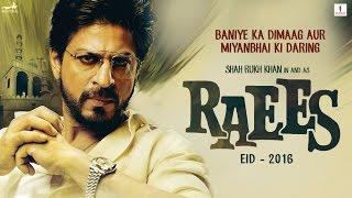Teaser of Shahruk Khan's 'Raees' [2016]
