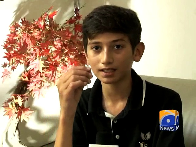 13-yead old Shehroze of Lahore aims to climb K-2