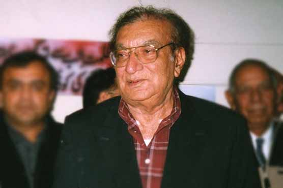 Seventh death Anniversary of Ahmad Faraz observed today
