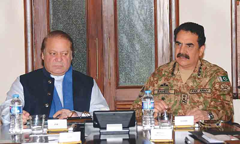 Why PM Nawaz is so keen to have picture with Gen. Raheel Sharif?