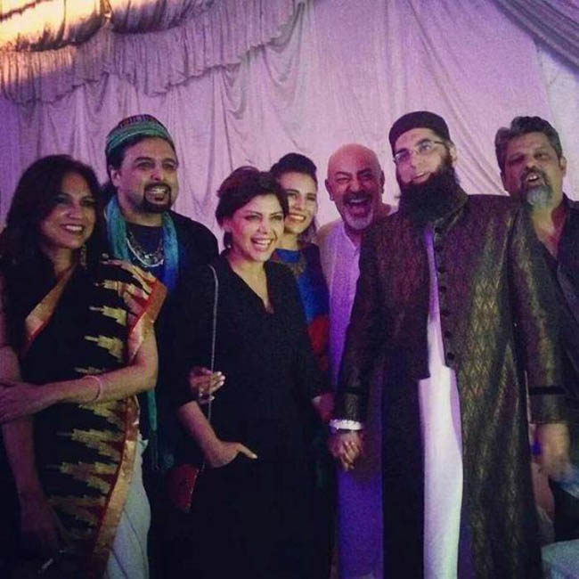 Junaid Jamshed's response on controversial picture with Hadiqa Kiani