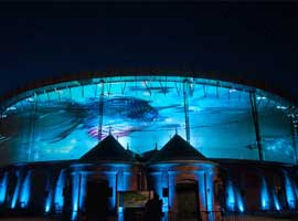 Most awesome projection and LED work
