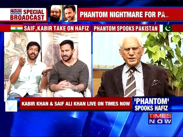 Ahmed Raza Kasuri with Saif, Kabir on 'Phantom' ban