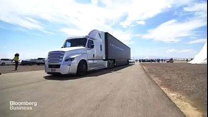 Here's how a driverless truck works