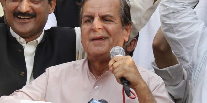 Javed Hashmi Taunts Imran Ismael