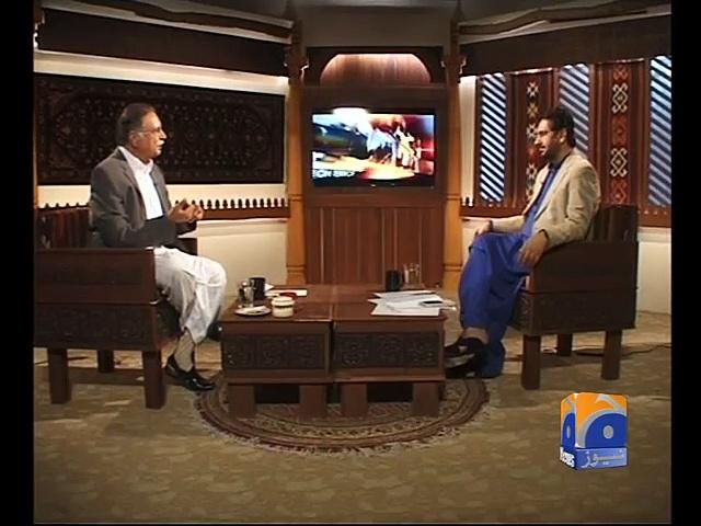 Jirga by Saleem Safi talks with Pervaiz Rashid (August 24)