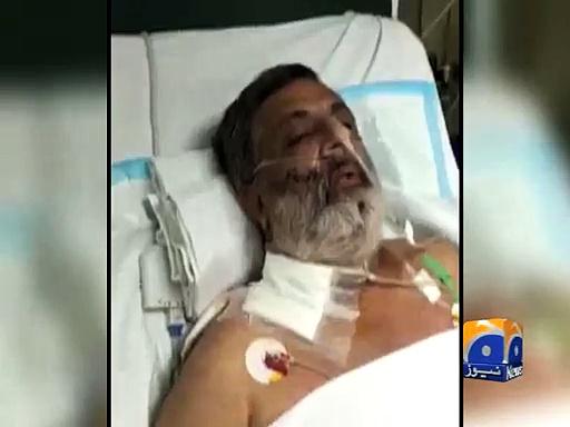 Rashid Godil's message from Hospital