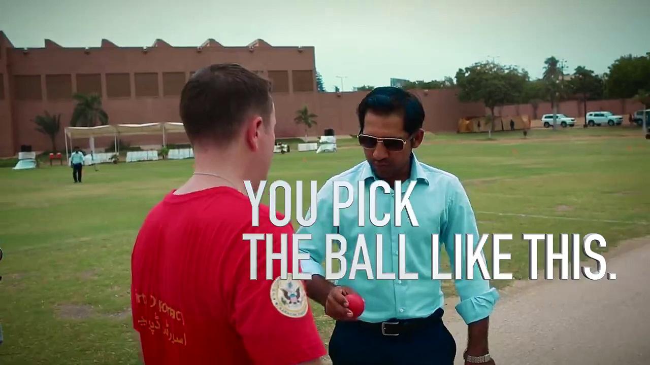 Sarfaraz, Sikander teach American Diplomats Cricket