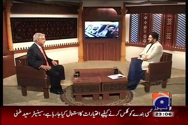 Jirga with Saleem Safi – August 31