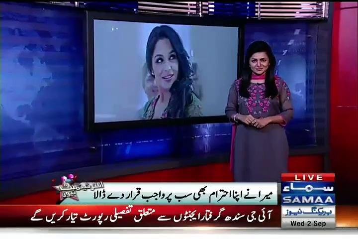 Meera's fluent use of 'Nishaandahi' makes media-men dull